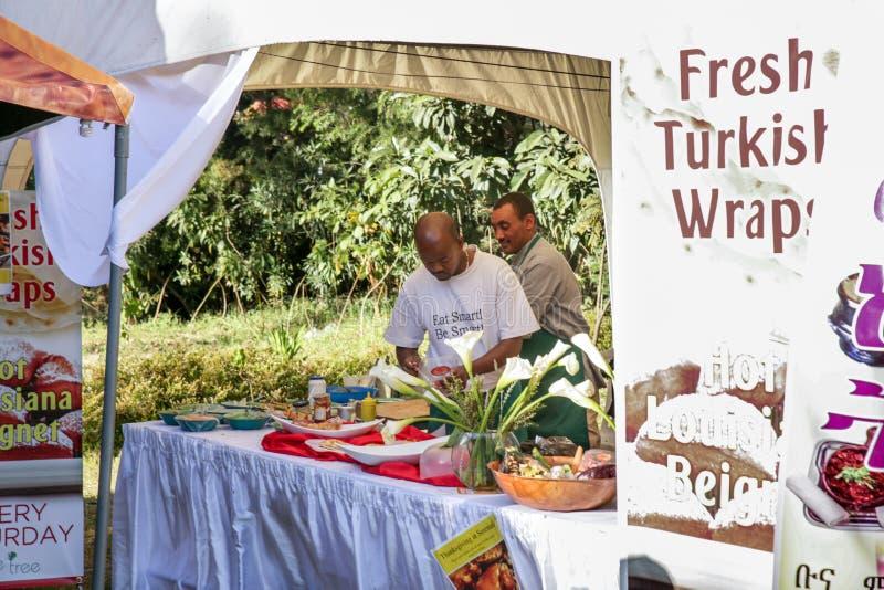 Goût 2012 de festival de nourriture d'Addis photographie stock