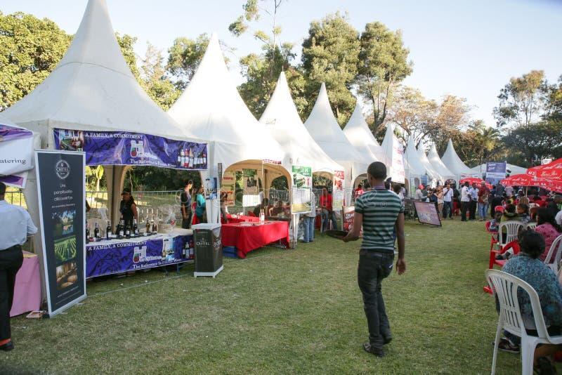 Goût 2012 de festival de nourriture d'Addis image libre de droits
