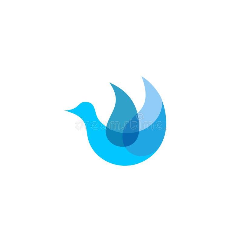 Gołąbka logo ilustracja wektor