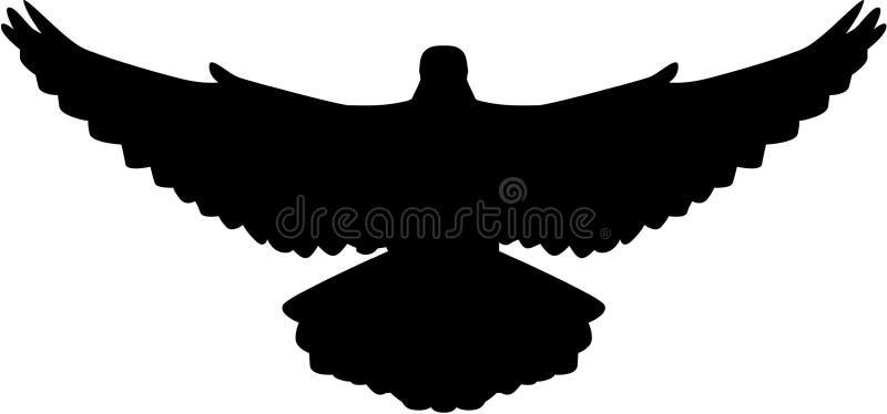 Gołąbki latanie royalty ilustracja