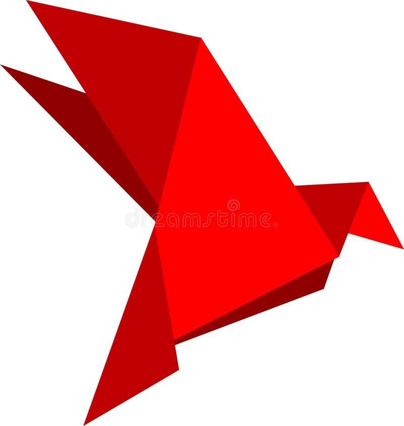 gołębie origami