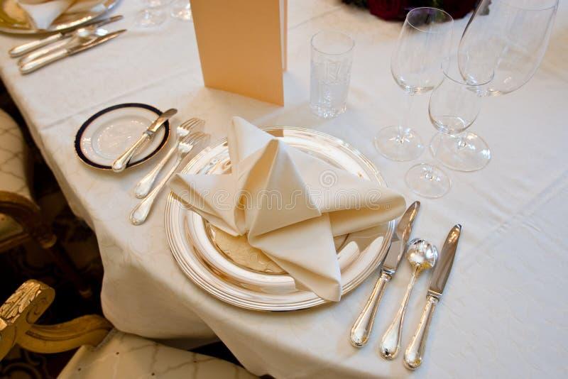 gość restauracji świąteczny fotografia royalty free