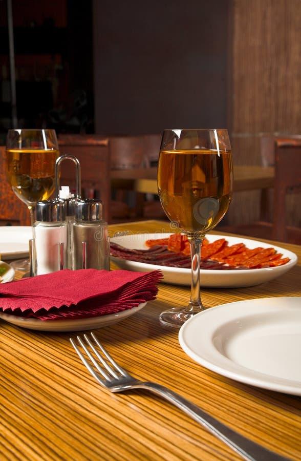Gość restauracji zdjęcie royalty free