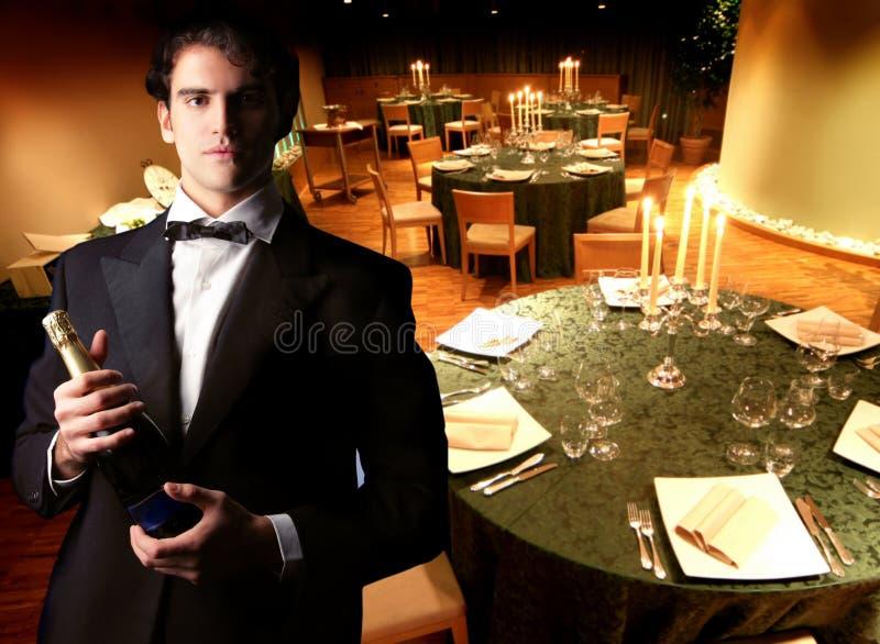 gość restauracji zdjęcia royalty free