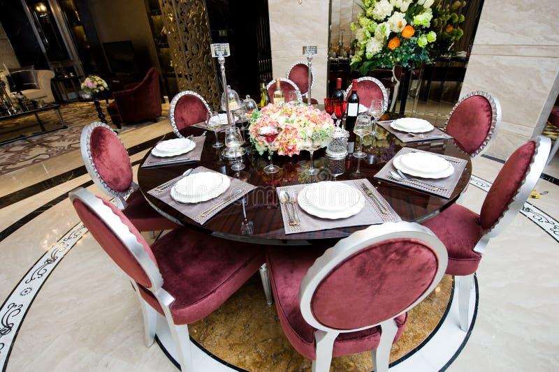 gość restauracji elegancki fotografia royalty free