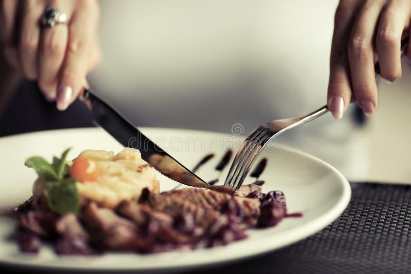 Download Gość Restauracji Przy Restauracją Zdjęcie Stock - Obraz złożonej z femaleness, armada: 65225062