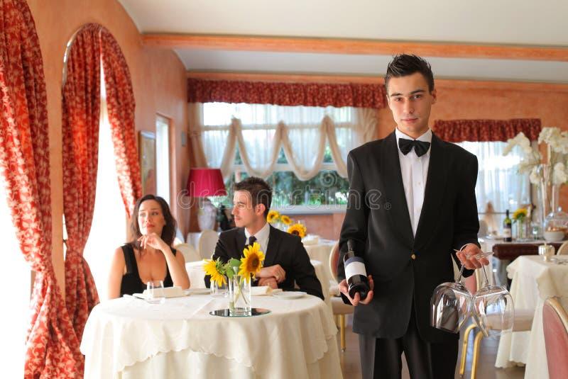 gość restauracji romantyczny zdjęcia stock