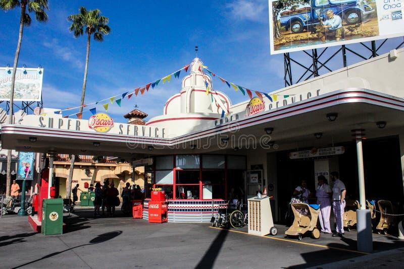 Gość Usługuje Hollywood studia w Orlando, Floryda zdjęcia stock