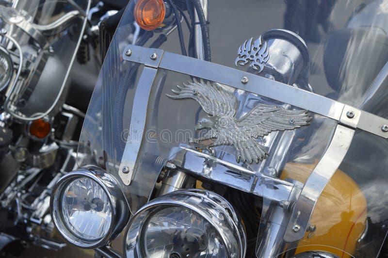 Goście podziwiają motocykle przy Margate topnienia roweru roczną przejażdżką fotografia stock