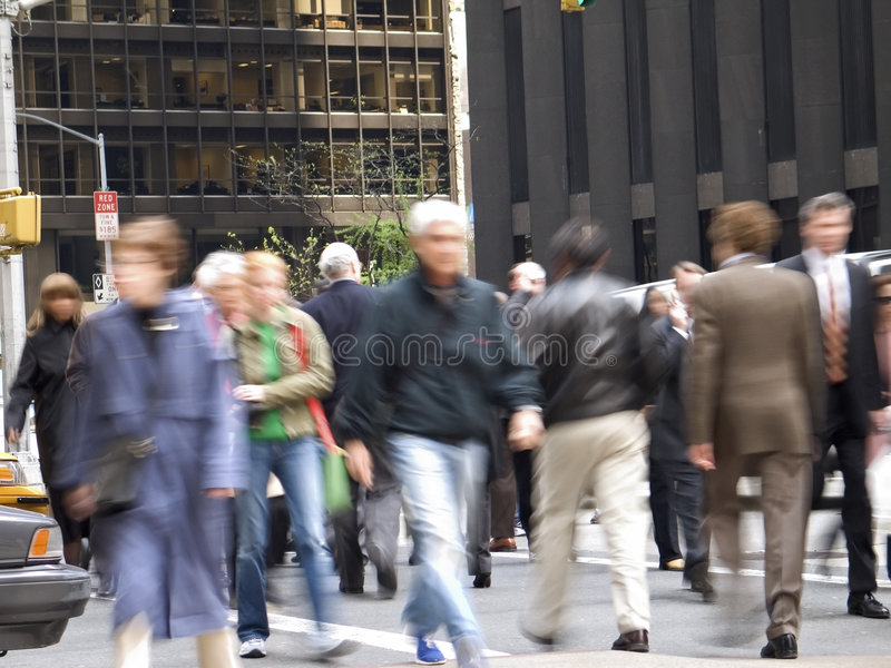 Download On the Go stock photo. Image of blur, colors, city, walking - 119242