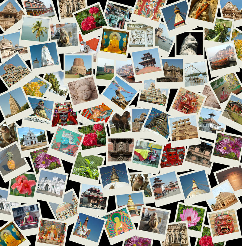 Download Go Asia - Background With Travel Photos Of Asia Stock Photo - Image: 12839492