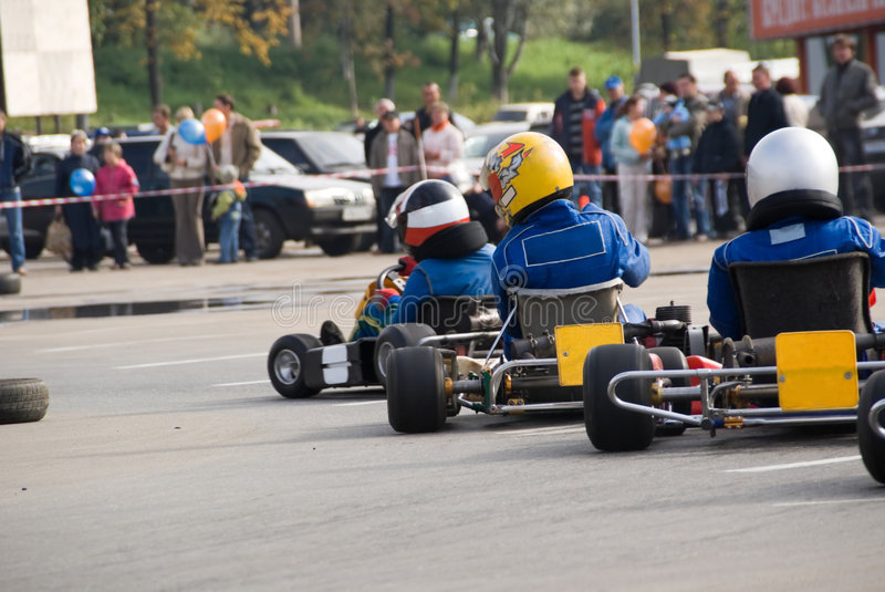 go cart royalty free stock images