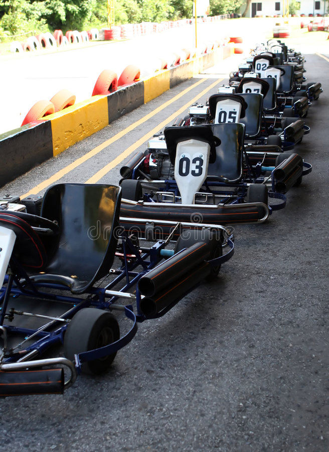 Free Go Carting Royalty Free Stock Photography - 1400027