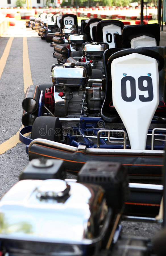 Free Go Carting Royalty Free Stock Image - 1400046