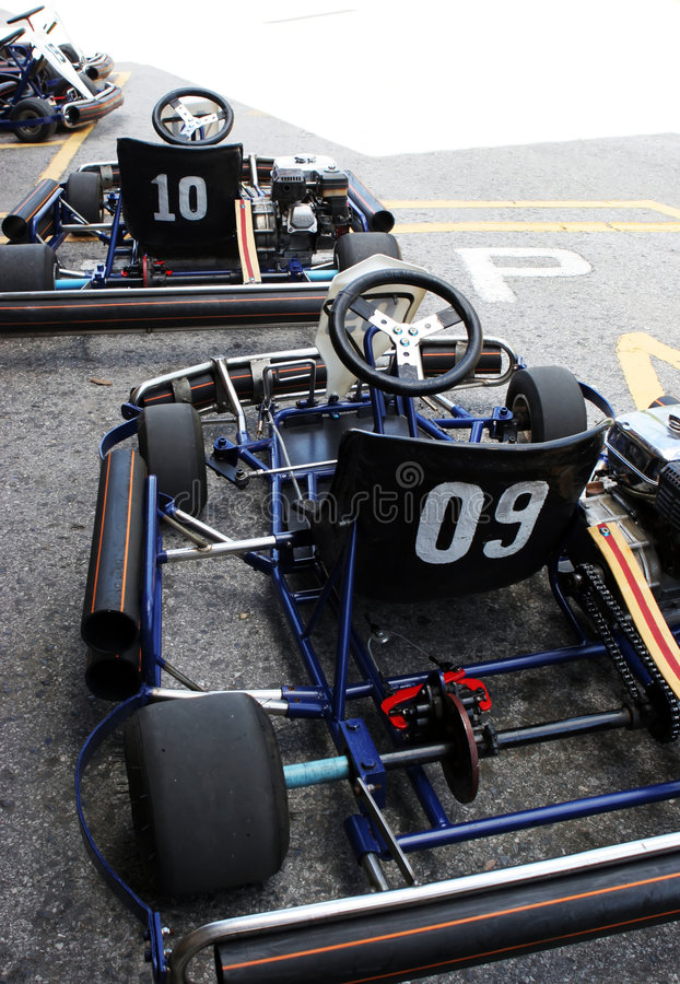 Free Go Carting Stock Photography - 1400052
