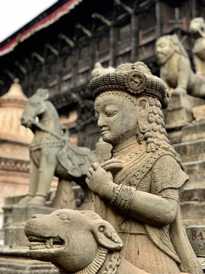 Go considera Nepal imagenes de archivo