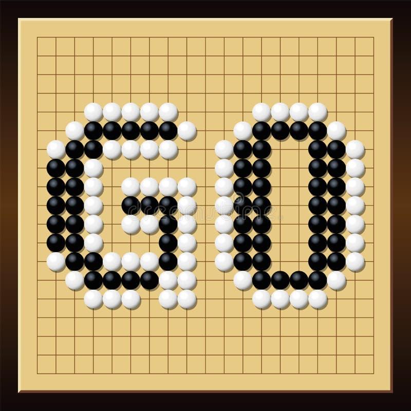 Download Go Game Board Word Gobang Gomoku Stock Vector