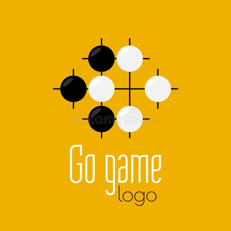 Free Go Game Logo. Baduk Ko Rule Position Royalty Free Stock Image - 127216056