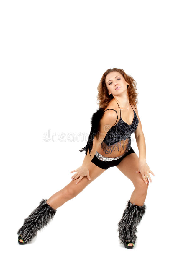 Download Go-go dancer stock photo. Image of happy, girl, elegant - 26014082