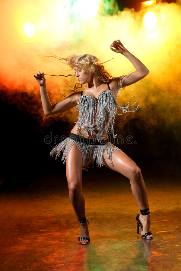 Download Go-go dancer stock photo. Image of girls, lingerie, dancer - 8515228