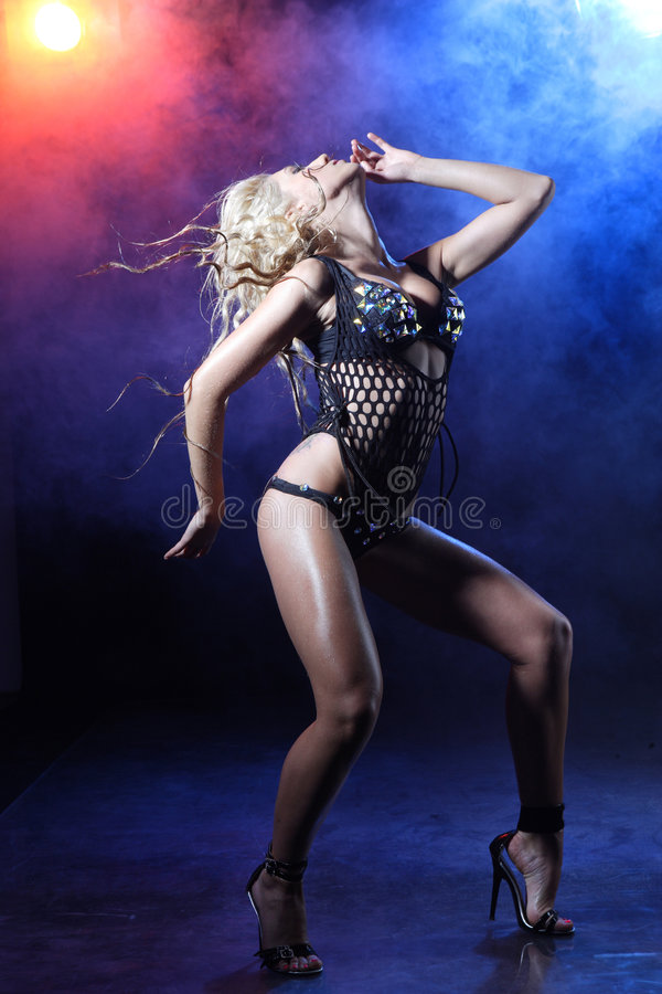 Download Go-go dancer stock image. Image of flirting, desire, blond - 8515347