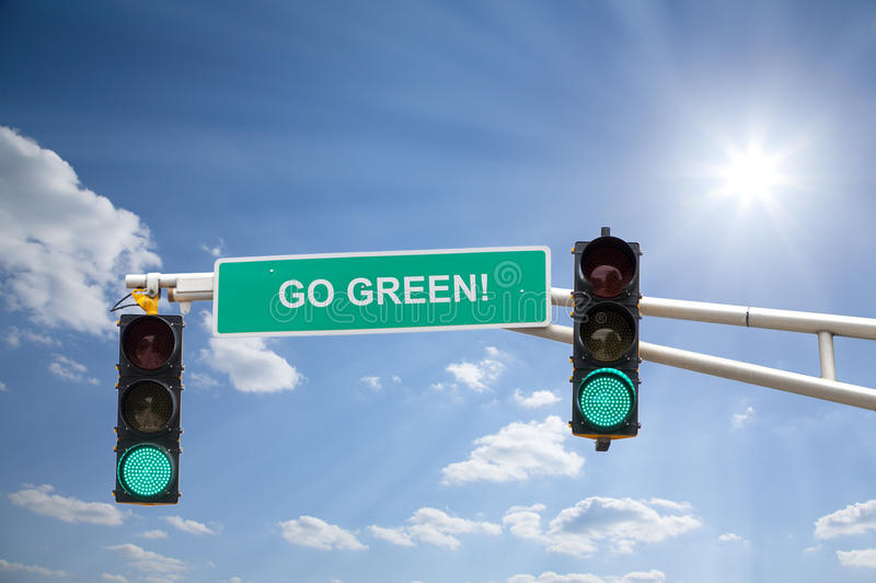 Go Green Royalty Free Stock Image