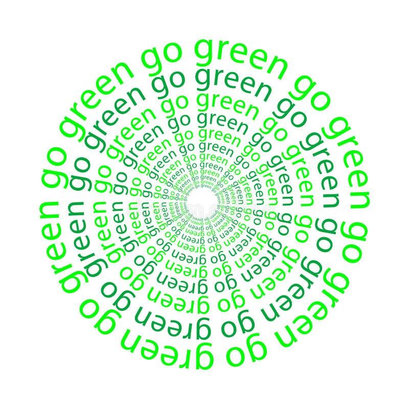 Download Go green stock illustration. Illustration of ecology, object - 7078582