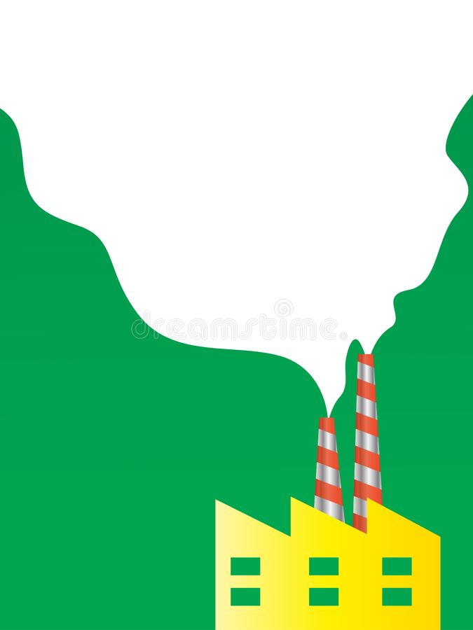 Download Go Green - Air pollution stock vector. Illustration of grunge - 23547629
