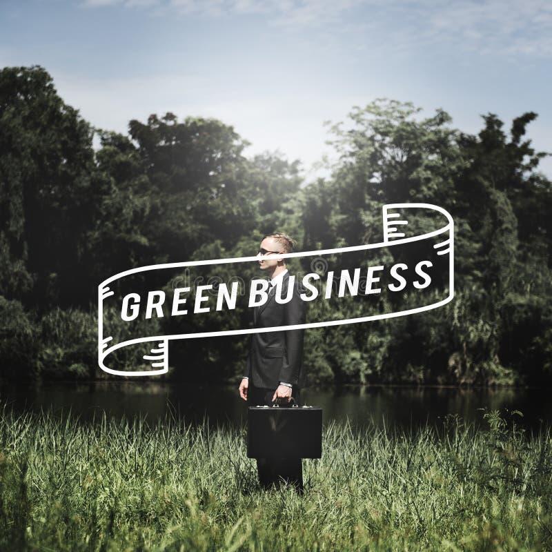 Go Green Business Environment Conservation Environmentalist Concept stock photo