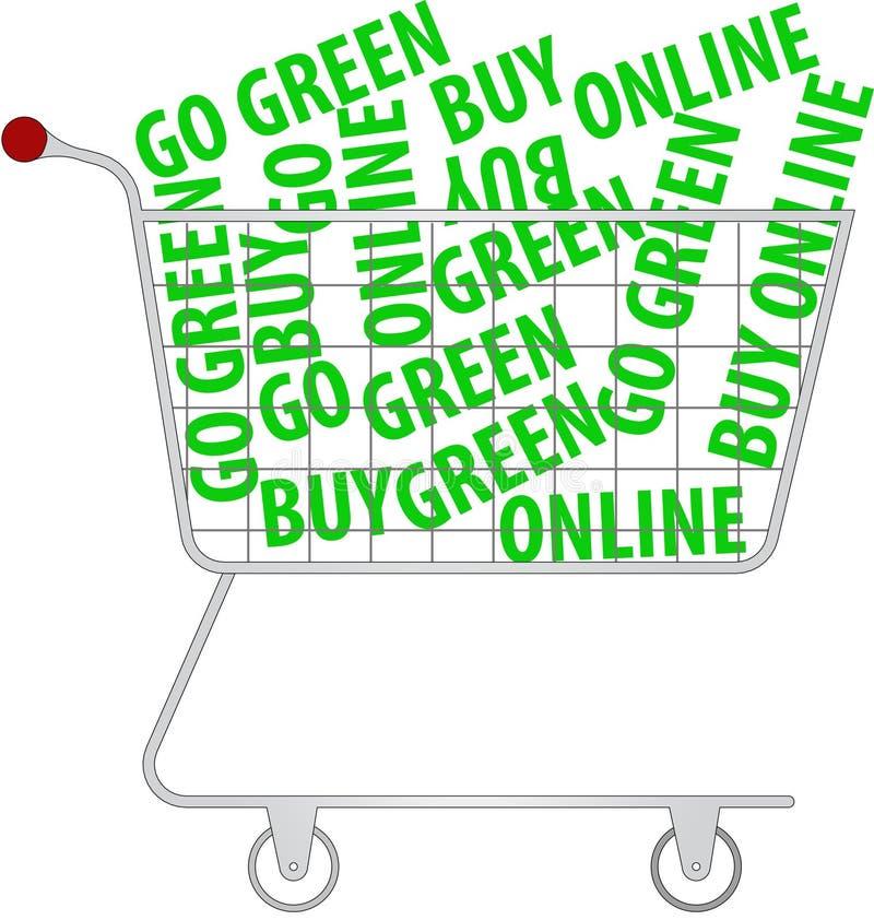 Download Go green - buy online stock vector. Illustration of gray - 11329960