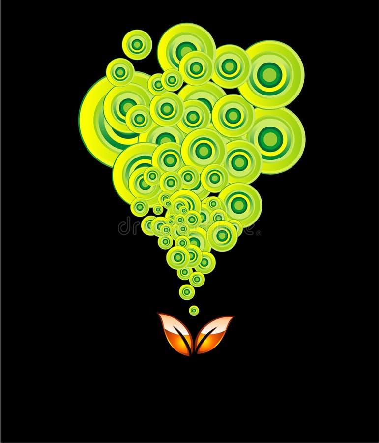 Go Green Environment Card stock photography
