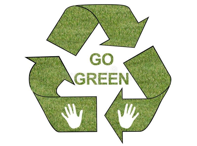 Download Go green grass logo stock illustration. Image of image - 13688043