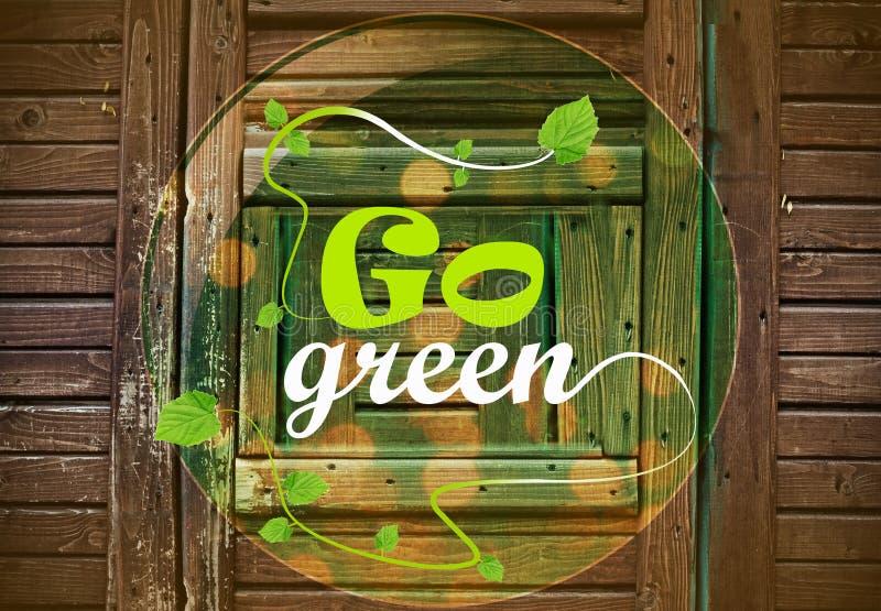Download Go Green stock illustration. Illustration of symbol, recycling - 32766164