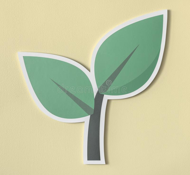 Go green think green act green vector illustration