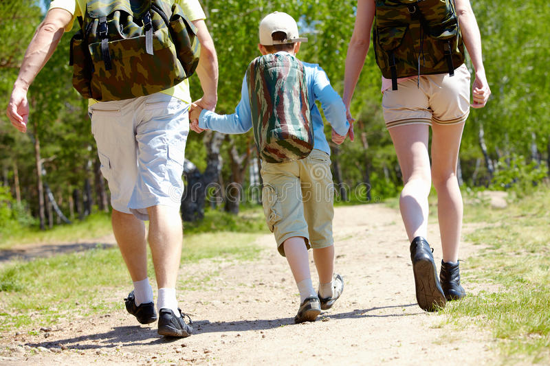 Download Go hiking stock photo. Image of countryside, backpack - 15104666