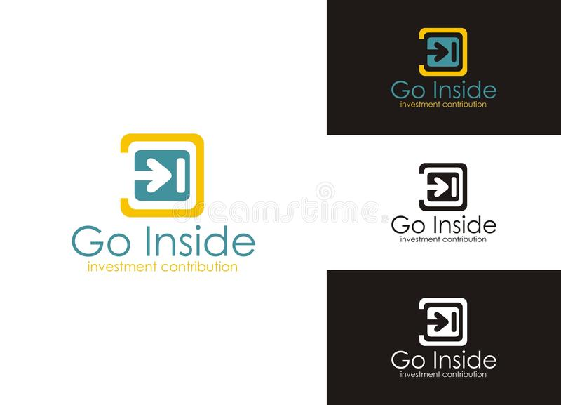 Download Go Inside stock vector. Image of furniture, corporate - 22532256