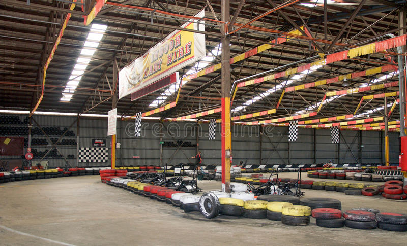 Go Kart Track stock photo