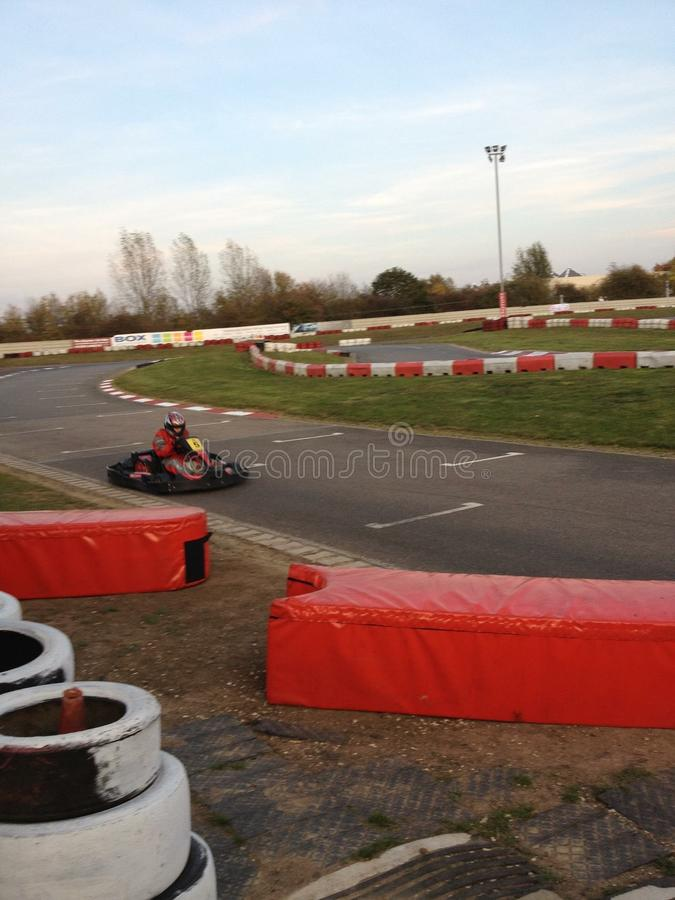 Go karting stock image