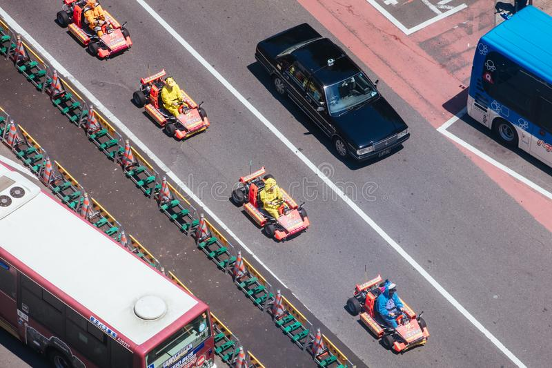 Go Karts in Tokyo zdjęcie stock