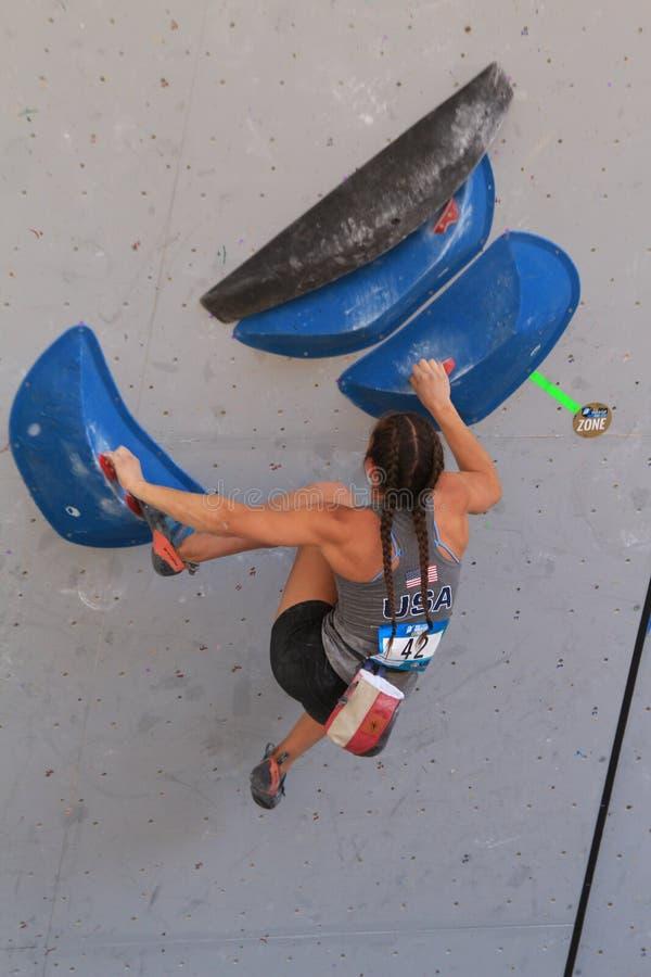 Free Go Pro Mountain Games Climbing Competition - Vail, Colorado Stock Photography - 121172362