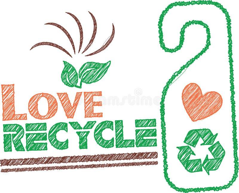 Go recicla imagen de archivo