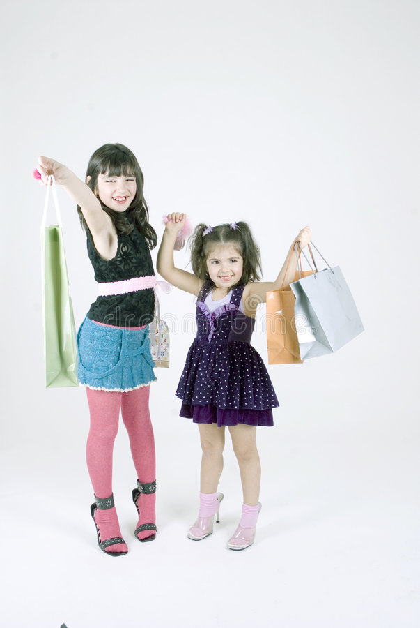 GO shopping! stock images