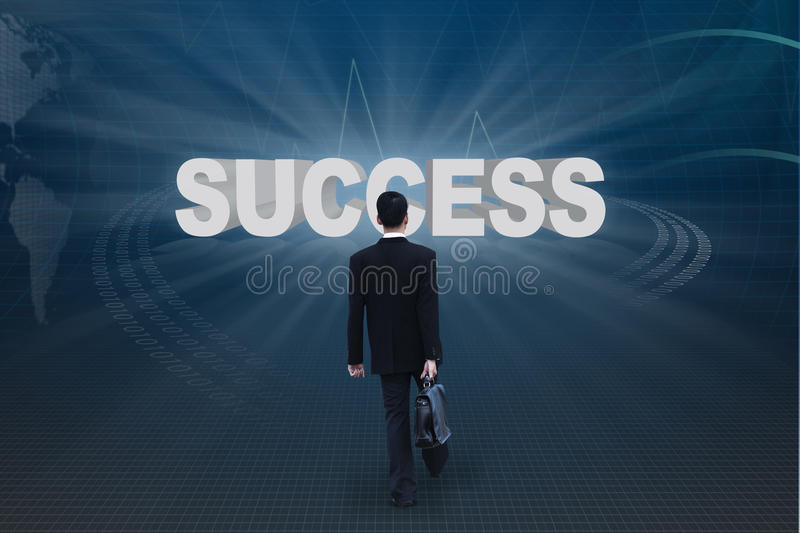 Download Go to success stock illustration. Illustration of people - 22837434