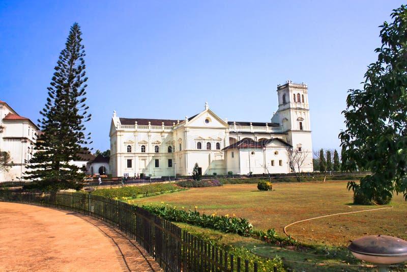 goa παλαιό ST του Francis εκκλησιών assiisi στοκ εικόνα με δικαίωμα ελεύθερης χρήσης