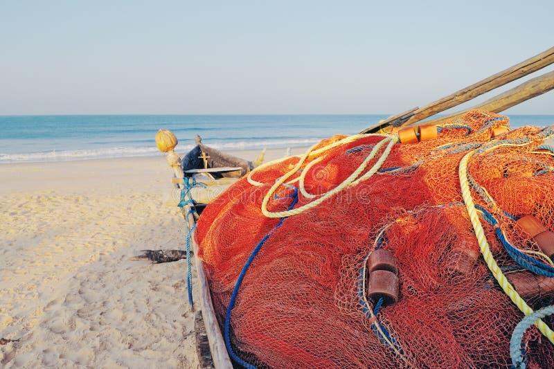 goa рыболовства шлюпки стоковая фотография rf