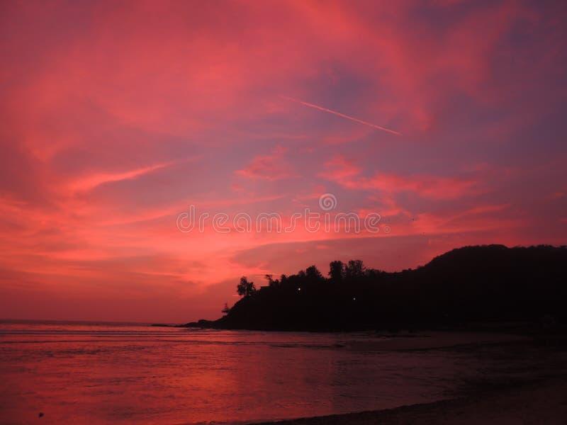 Goa , baga beach stock photos