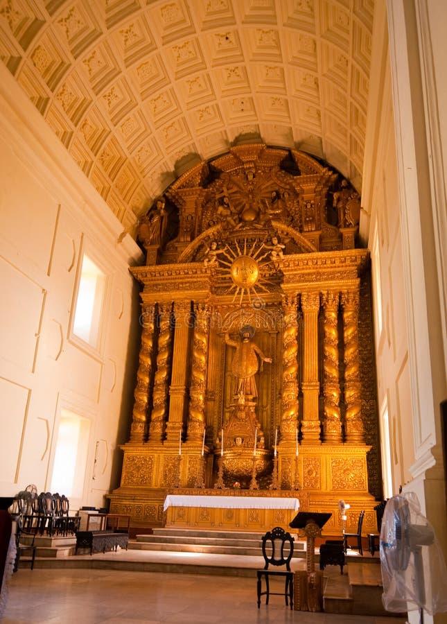 Goa - Basilika von Bom Jesus lizenzfreie stockbilder