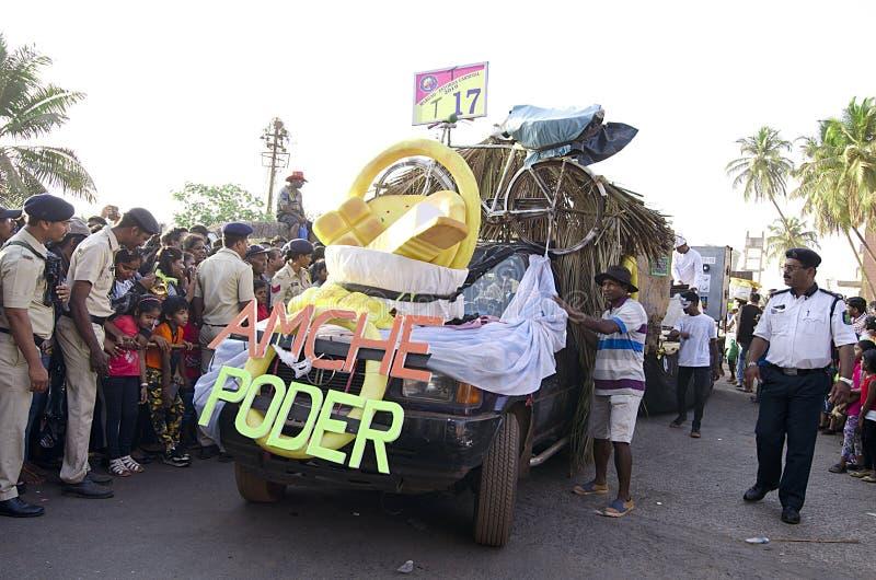 Goa Carnaval 2019, India stock fotografie