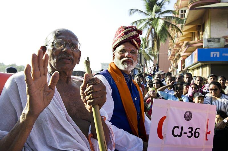 Goa Carnaval 2019, India royalty-vrije stock foto