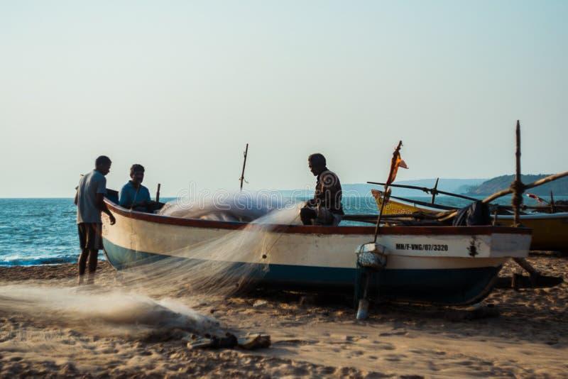 Goa Indien stockbild